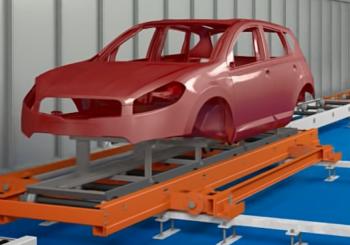 La Simulazione Dinamica come verifica dei flussi e del raggiungimento del target produttivo di un impianto di verniciatura automotive – Video